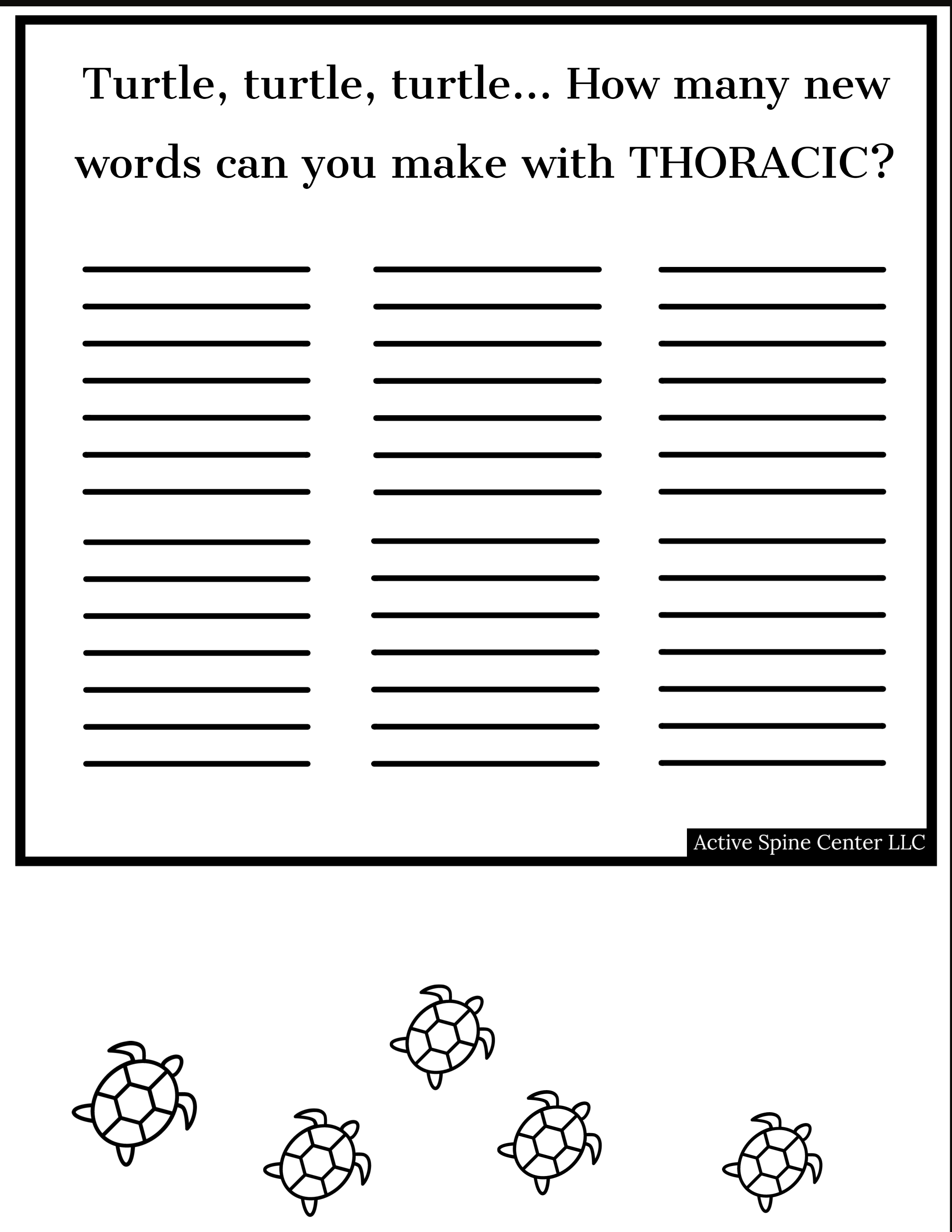 Thoracic